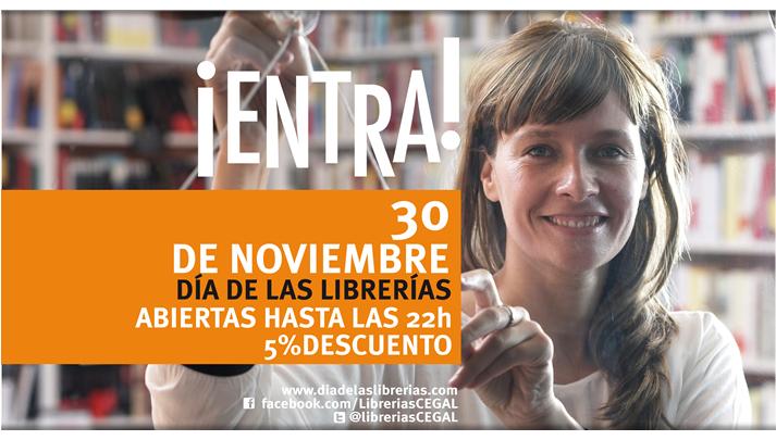 Cartel Día Librerías