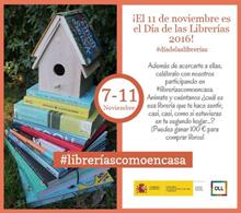 El Observatorio de la Lectura y el Libro lanza una campaña en twitter para celebrar el Día de las Librerías