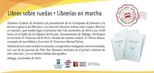 Libros sobre ruedas. Librerías en marcha. Málaga