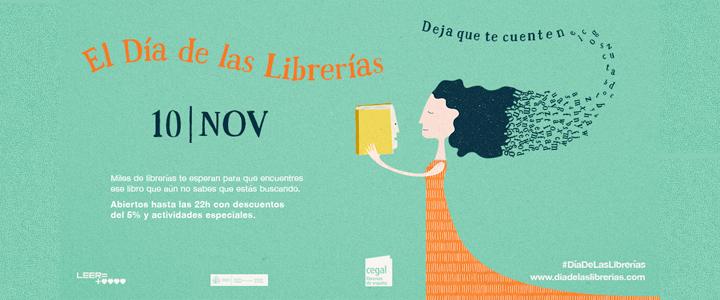 10 NOV. Día de las Librerías 2017. Cartel