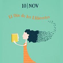 Día de las Librerías 2017. Cartel en catalán