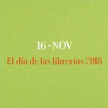 Día de las Librerías 2018. Cartel en castellano