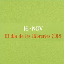 Día de las Librerías 2018. Cartel en catalán
