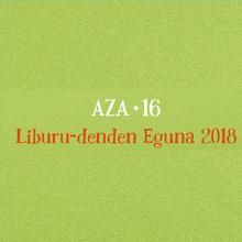 Día de las Librerías 2018. Cartel en euskera