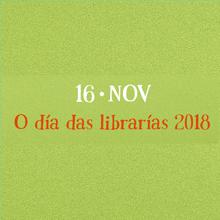 Día de las Librerías 2018. Cartel en gallego
