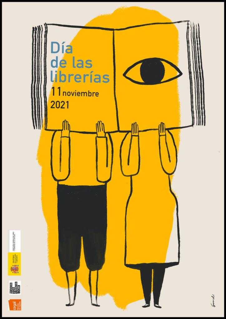 Cartel Día de las Librerías 2021